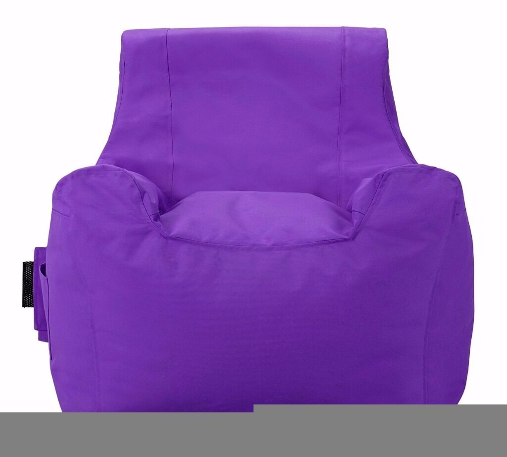 Colourmatch Beanbag Purple In Hall Green West