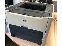 HP LaserJet printer 1320nw PLUS spare toner - wireless & duplex