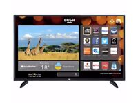 "5 MONTHS OLD 48"" BUSH LED SMART TV full hd ready 1080p freeview inbuilt"