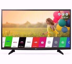 "Smart TV LED LG 43"" smart tv"