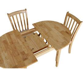 Banbury Table - Natural