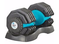 Amazing workout Dumbells adjustable brand NEW up for a GRAB -25 Kg