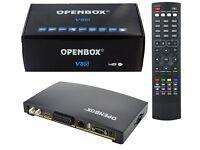Used OPENBOX V8S Digital Freesat PVR Full HD TV Satellite Receiver Channel Box