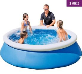 10 used swimming pools various sizes 8ft-10ft-12ft