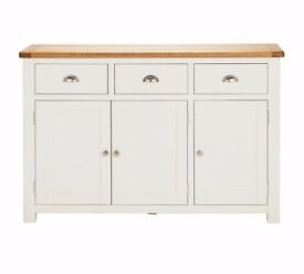 Ex display Kent Large Sideboard - Grey