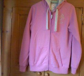 joules ladies long sleeved equestrian zip up hoodie