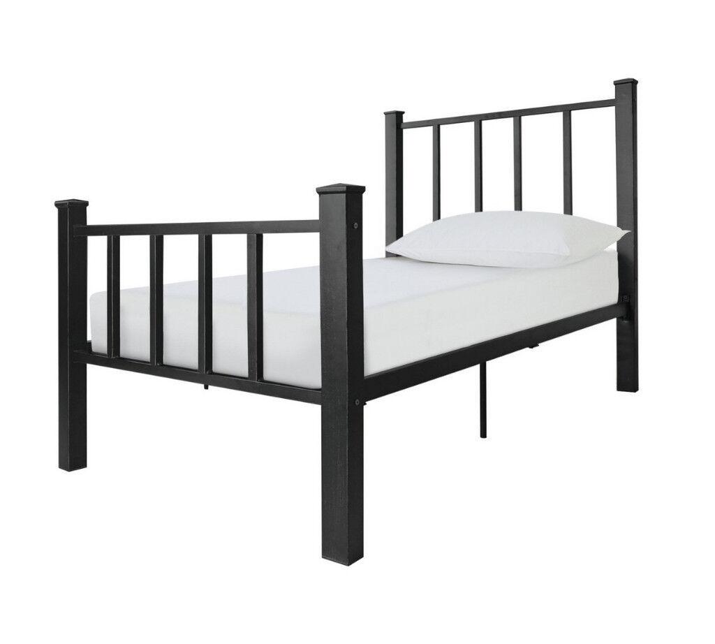 Collection Gabe Black Bed Frame - Single