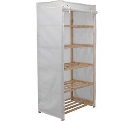 Wooden 5 shelf unit