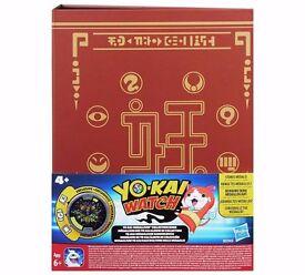 Yo-kai Watch Yo-kai Medallium Collection Book: Brand new and unopened