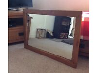Large wall mirror Made by Winsor Furniture