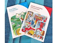 Food Hygiene and Health & Safety Principles for catering industry lev 2. together £4 (or£2/each)
