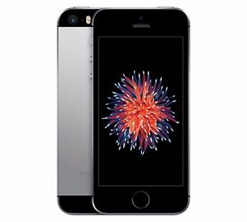 IPhone SE Space Grey (Black) 16GB Unlocked 3 Month Age, As New!