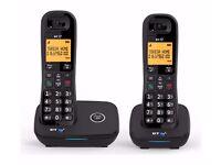 BT 1200 Twin Landline Telephone Nuisance Call Blocker