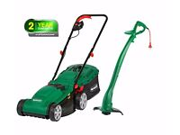 Qualcast Lawnmower and Grass Trimmer