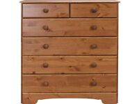 Ex-display Nordic 4+2 Drawer Chest - Pine