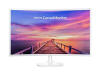 "Samsung Curved C32F351 32"" PC monitor (White)"