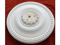 "Plaster Ceiling Rose Egg and Dart Traditional Design 15"""