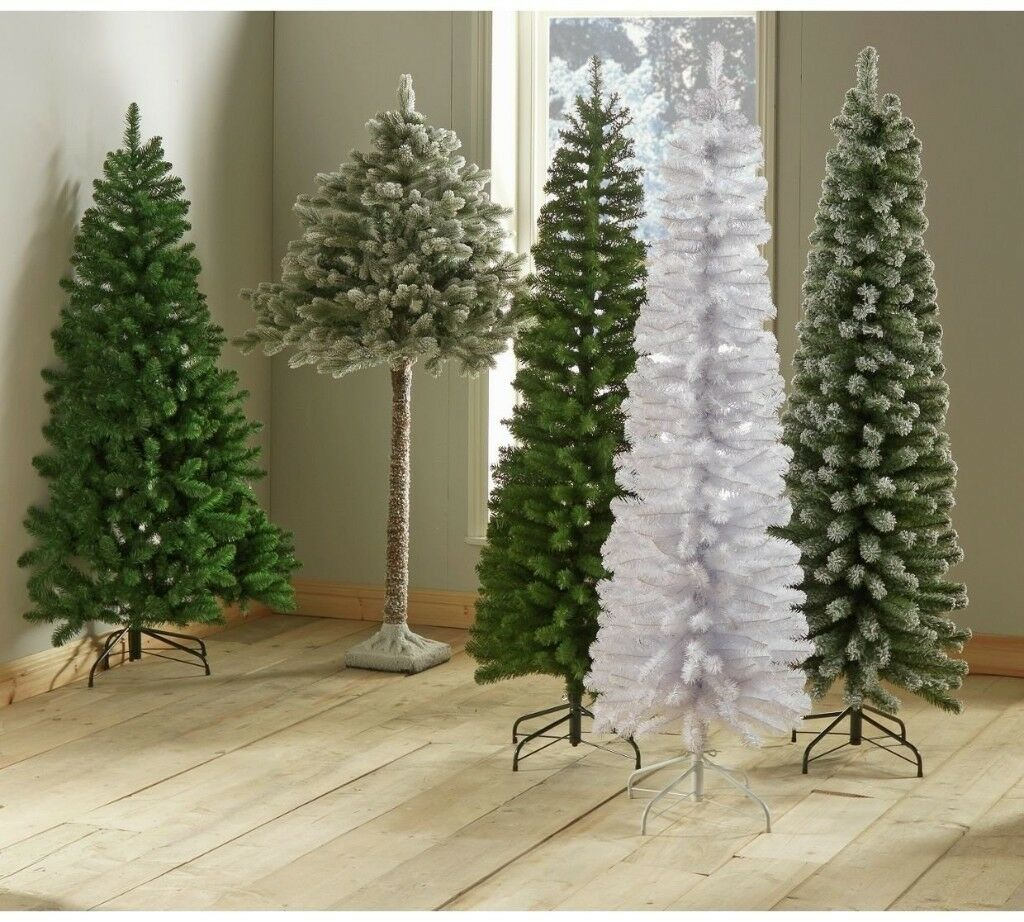 Brand New Collection 6ft Snowy Half Christmas Tree