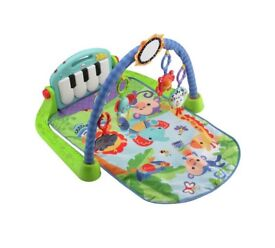 Fisher Price kick and play piano activity mat