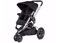 NEW Quinny Buzz Xtra Pushchair - Rocking Black