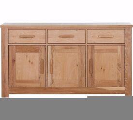 Schreiber Harbury Large Sideboard - Oak (small mark)