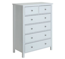 Ontario 4+2 Chest of Drawers - White