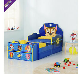 Paw Patrol Cube Toddler Bed Frame - Blue