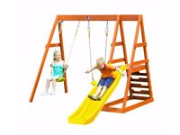 BRAND NEW Plum Products Tamarin Wooden Playcentre RRP £249...NOW ONLY £100!!
