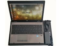 Good Condition HP Probook Intel Core i3, 4GB RAM, 320GB Storage, Ubuntu 16.04, DVDRW, WiFi, 15.6""