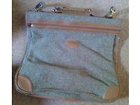 Pierre Cardin tweed suit bag