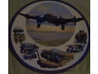 lovely collectable royal worcester ltd edition aviation plate by keith woodcock.