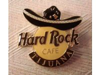 Hard Rock Cafe Tijuana Pin - Sombrero - Unused/Mint Condition