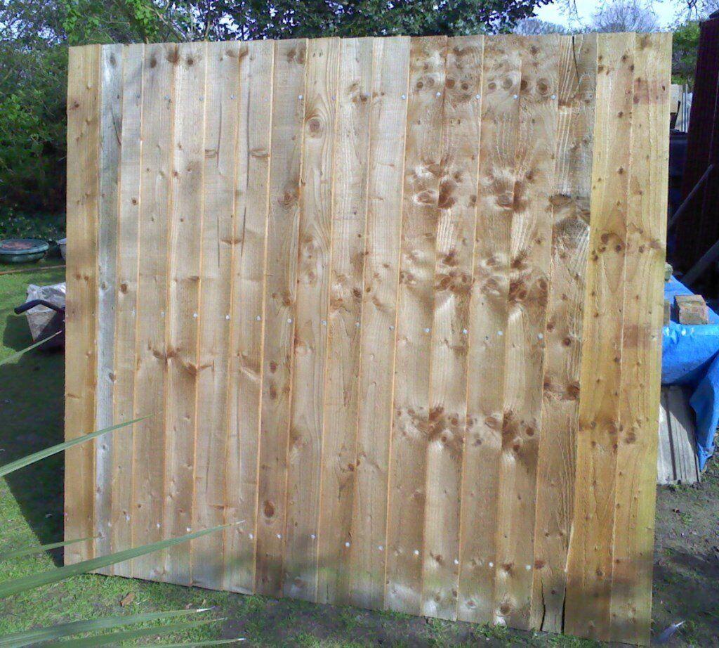 3 closeboard fence panels in norwich norfolk gumtree 3 closeboard fence panels baanklon Choice Image