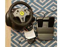 GT Ferrari Racing Wheel in box