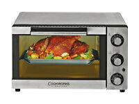 Oven - Cookworks Mini Oven - Stainless Steel