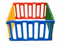 Excellent colourful Jolly Kidz Magic Panel Playpen with amazing flexibility