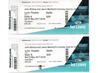 JOHN BISHOP & JASON MANFORD'S COMEDY GALA FOR CAFT - THE LOWRY - SAT 27TH MAY 2017