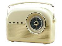 Bush Classic Retro DAB Radio - Classic Cream