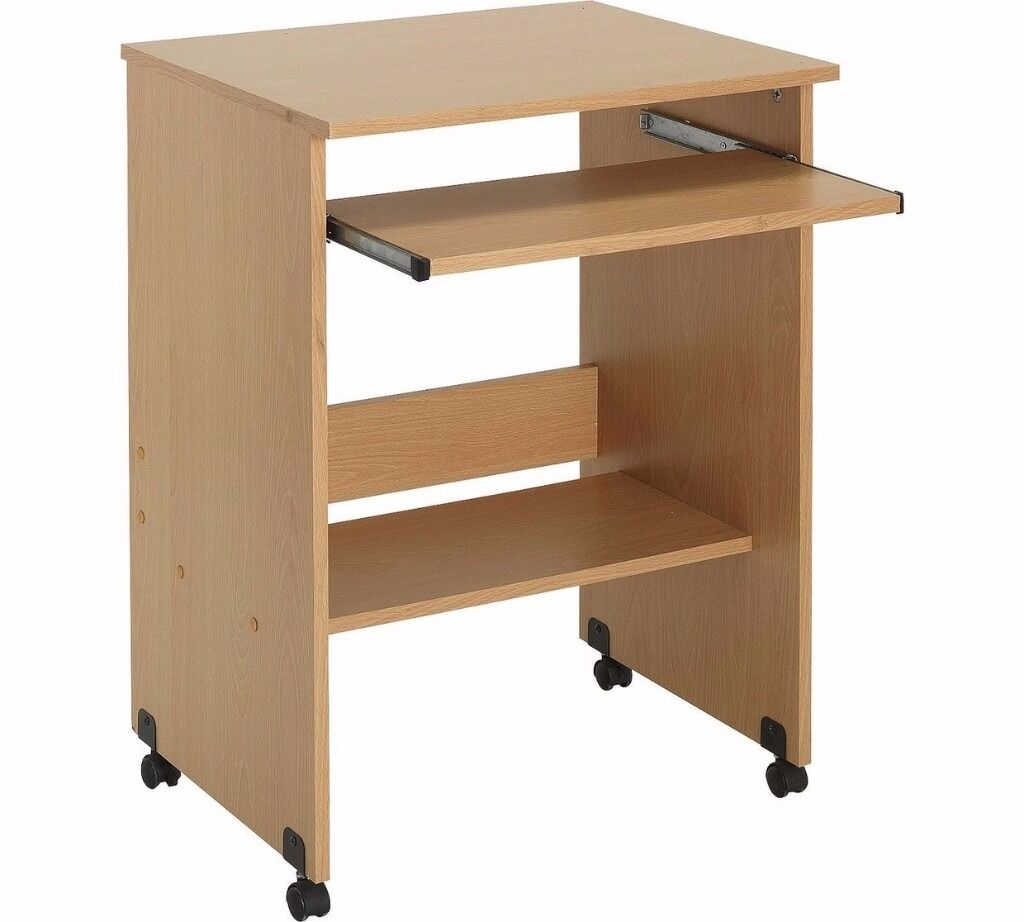 Desk With Pull Out Table Students Price £7 Computer Desk Table With Pull Out Keyboard Tray