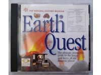 The National History Museum: Earth Quest (PC: Windows) CD-ROM