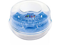 Avent microwave baby bottle steriliser