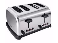 Cookworks 4 Slice Toaster Stainless Steel * 7 toast settings * 1800W by. Argos NEW RRP £29.99
