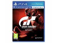 GRAN TURISMO (GT SPORT) - PS4 - BRAND NEW AND SEALED