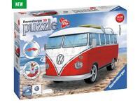 3D camper van puzzle