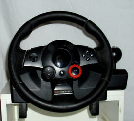 Logitech Driving Force GT Steering Wheel (PS2 & PS3)