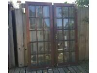 Hardwood Exterior French doors
