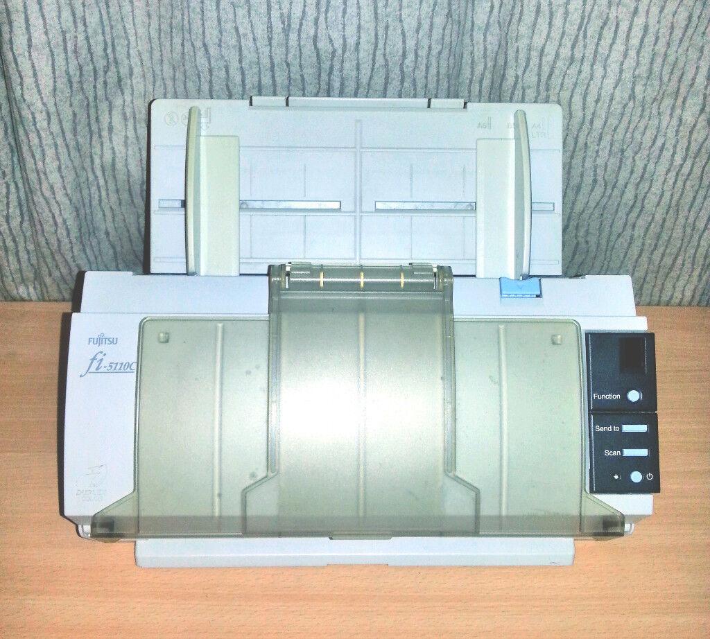 Fujitsu fi-5110C Image Scanner - A4 Duplex Compact Colour Scanner