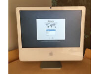 "Apple Mac iMac 20"" OS X Lion NEW Wireless Keyboard and Mouse Intel Core 2 Duo 2GB RAM 500GB"