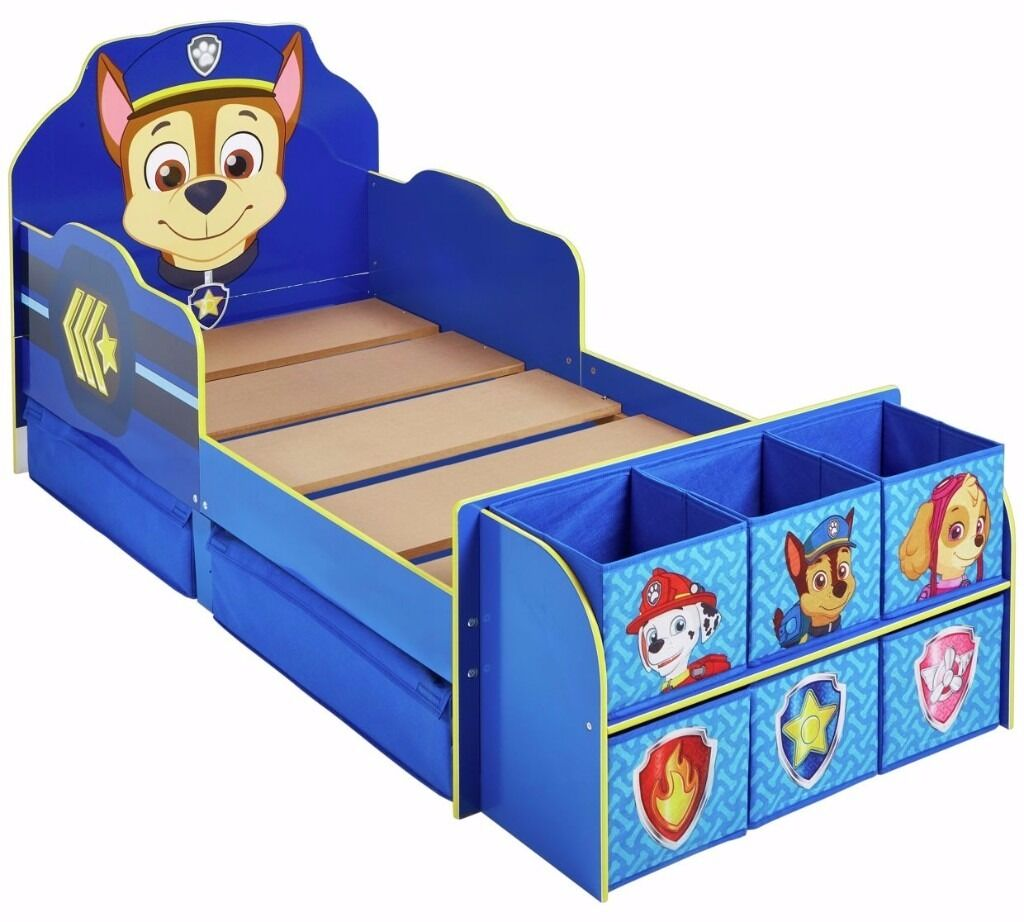 EX DISPLAY Paw Patrol Cube Toddler Bed Frame