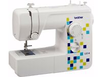 Brother LS14 Manual Stitch Sewing Machine - White